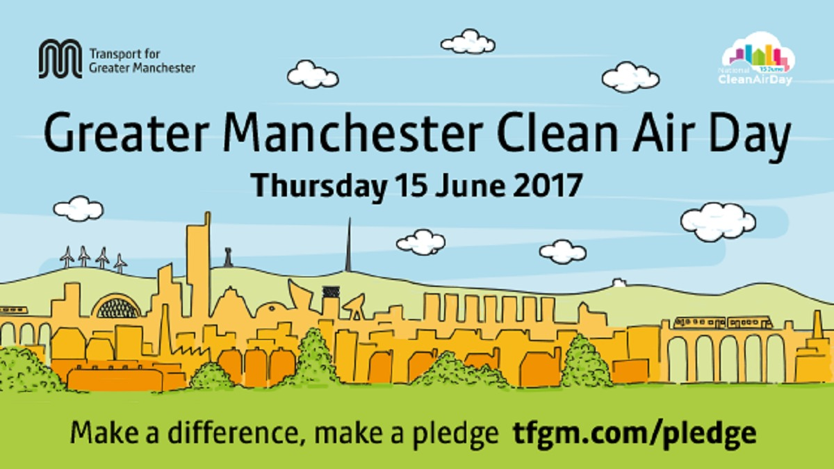Pledges made in Leeds during National Clean Air Day